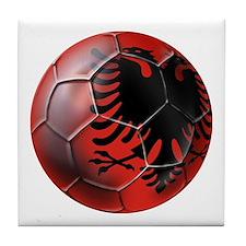 Albanian Football Tile Coaster