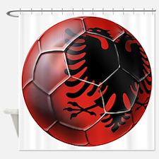 Albanian Football Shower Curtain