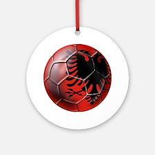 Albanian Football Ornament (Round)