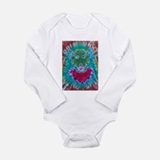 Tie Dyed Jerry Bear Long Sleeve Infant Bodysuit