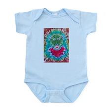 Tie Dyed Jerry Bear Infant Bodysuit