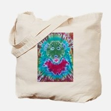 Tie Dyed Jerry Bear Tote Bag