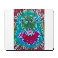 Tie Dyed Jerry Bear Mousepad