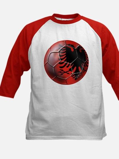 Albanian Football Kids Baseball Jersey