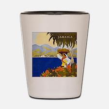 Vintage Jamaica Shot Glass