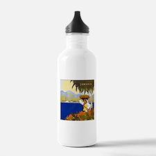 Vintage Jamaica Water Bottle