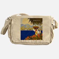Vintage Jamaica Messenger Bag