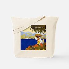 Vintage Jamaica Tote Bag