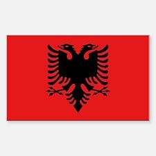 Flag of Albania Sticker (Rectangle)