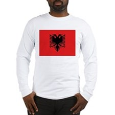 Flag of Albania Long Sleeve T-Shirt
