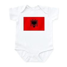 Flag of Albania Infant Bodysuit