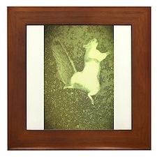 road kill squirrel Framed Tile