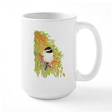 Autumn Chickadee Mug