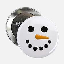 "Snowman Face 2.25"" Button (10 pack)"