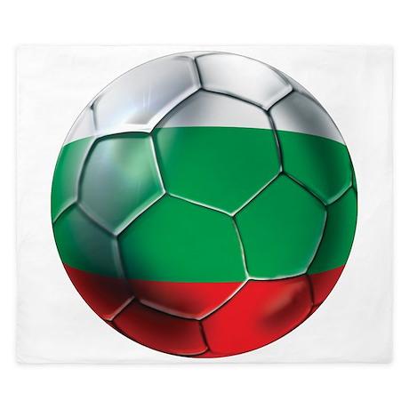 Bulgaria Football King Duvet