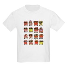 Cute Firetruck kids T-Shirt