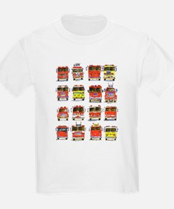Cute Firefighter kids T-Shirt