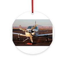 Plane at Page, Arizona Ornament (Round)