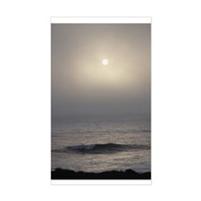 Cambria Sun in Fog Rectangle Decal