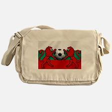 Bulgarian Football Flag Messenger Bag