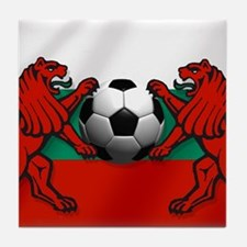 Bulgarian Football Flag Tile Coaster