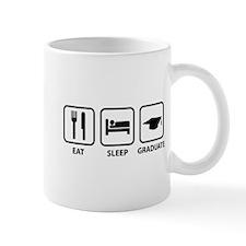 Eat Sleep Graduate Mug