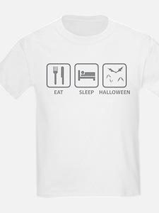 Eat Sleep Halloween T-Shirt
