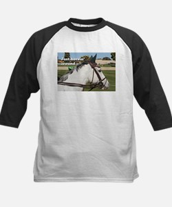 Just horsin' around: show jumping horse Tee