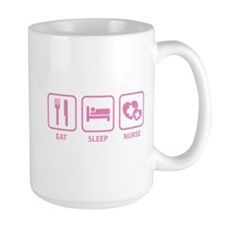 Eat Sleep Nurse Mug