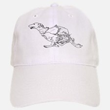 Running Silken Windhound Baseball Baseball Cap