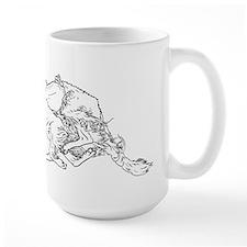 Running Silken Windhound Mug