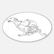 Running Silken Windhound Decal