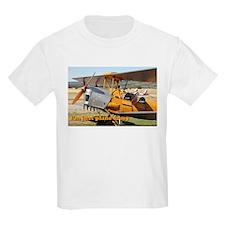 I'm just plane crazy: Tiger Moth T-Shirt
