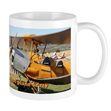 I'm just plane crazy: Tiger Moth Mug