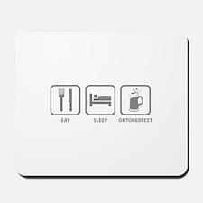 Eat Sleep Oktoberfest Mousepad