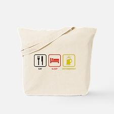 Eat Sleep Oktoberfest Tote Bag