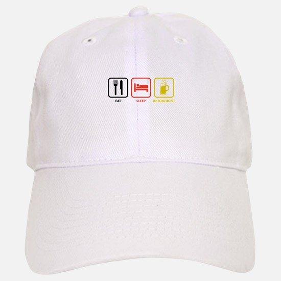 Eat Sleep Oktoberfest Baseball Baseball Cap