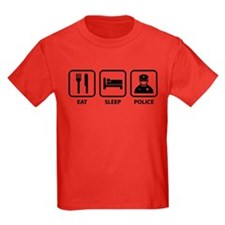 Eat Sleep Police T