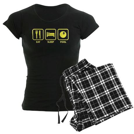 Eat Sleep Pool Women's Dark Pajamas