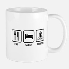 Eat Sleep Prison Mug