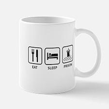 Eat Sleep Prison Small Mugs