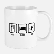 Eat Sleep Ski Small Small Mug
