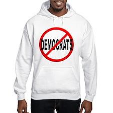 Anti / No Democrats Jumper Hoody