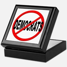 Anti / No Democrats Keepsake Box