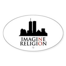 Imagine No Religion Decal
