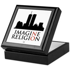 Imagine No Religion Keepsake Box