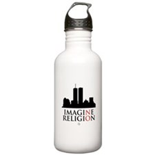 Imagine No Religion Sports Water Bottle