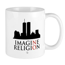 Imagine No Religion Mug