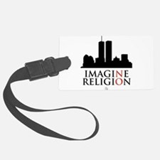 Imagine No Religion Luggage Tag