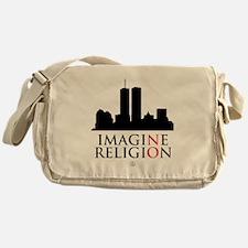 Imagine No Religion Messenger Bag